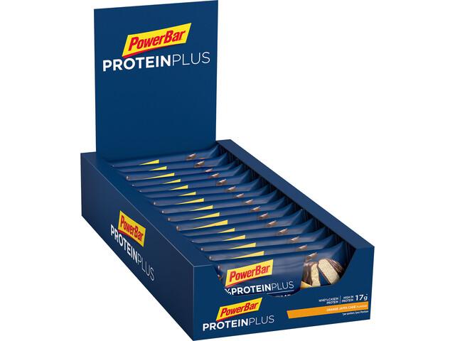PowerBar ProteinPlus 30% Bar Box 15 x 55g Orange Jaffa Cake